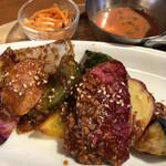 ベヂロカ - ごろごろ野菜の肉みそ田楽