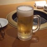 15475839 - とりあえず、生ビール