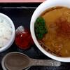 味の福龍 - 料理写真:冷たいカレーラーメン