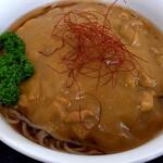 味の福龍 - 冷たいカレーラーメン