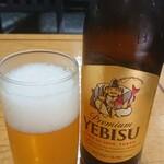 蓮玉庵 - ビールは小瓶でw