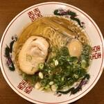 金久右衛門 - 料理写真:金醤油ラーメン +こだわり煮玉子トッピング
