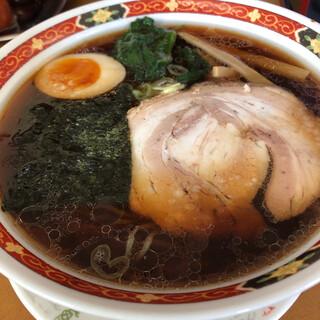 佐野家 - 料理写真:コクだれ醤油ラーメン650円税込。チャーシューがトロトロ。