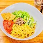 汁なし担々麺 麻沙羅 -