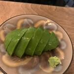 ハヤシ料理店 - アボカドのお浸し