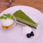パティ - 抹茶レアチーズケーキ