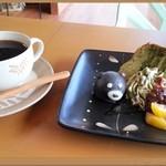 コーヒーベア - 本日の手作りケーキセット♪(790円)