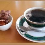 コーヒーベア - セットに付くコーヒー&デザート