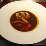 15477913 - カツオ出汁とお野菜のハヤシライス