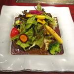 15477917 - 朝取れ野菜のサラダ