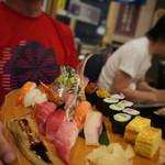 沼津魚がし鮨 - 【豪快店長おまかせ握り】¥3800