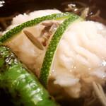 154771743 - 鱧とじゅん菜のお椀