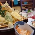 お食事処 ひさご - 料理写真:天ぷら定食