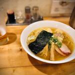 支那そば大和 - 白特製ワンタン麺 肉エビ2個づつ 950円