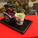 リキシャカフェ - 京の抹茶ラテ