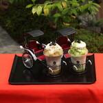 リキシャカフェ - 京都産ほうじ茶・抹茶のかき氷