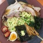 めんくま - 料理写真:冷やしラーメン 特盛 1,050円