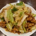 中華成喜 - 豚肉キャベツの味噌炒め