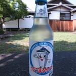 藍蔵 - ドリンク写真:うだつまるサイダー 230円(税込) (2021.6)