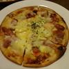 カフェ・ド・クレソン - 料理写真:モチモチミックスピザ モッツラレラ仕様