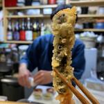 天ぷら はせ川 - イケメン一平ちゃん、海老天モザイク(*´艸`)♡