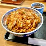 天茂 - かき揚げ丼1,400円
