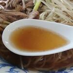 おふくろラーメン - スープ