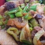 おふくろラーメン - ネギ丼のアタマ