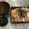 とん八 - 料理写真:上かつ重 これにキャベツが付いて@1,276円