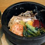 サムギョプサルと野菜 いふう - 石焼ビビンパ