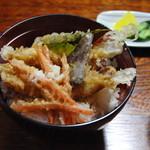割子庵 - 料理写真:天丼