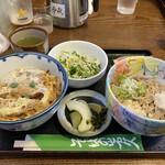 岩久 - 料理写真:・ミニカツ丼セット 1,000円/税込