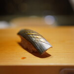 高柿の鮨 - 小鰭