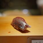 高柿の鮨 - 鯵