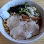 久太 - 冷たいラーメン(850円也) 煮干しがガツンとくるスープ♪
