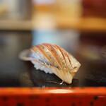 喜寿司 - 鯵