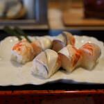 喜寿司 - 手綱巻