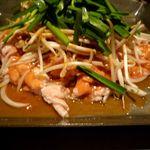 ぱる亭 - モツのちりとり鍋