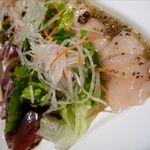 ぱる亭 - カツオとホタテのカルパッチョ