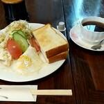 馬酔木 - 料理写真:モーニング 税込600円