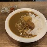 喫茶ルオー - セイロン風カレーライス (小盛り) ¥900- (税込)