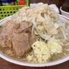 ラーメン二郎 - 料理写真:【再訪】小(野菜,アブラ,ニンニクダブル)