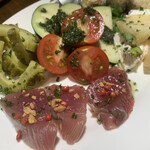 エスターテ 自然派ワインが中心のイタリアン - 前菜の盛り合わせ1