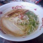 お台場ラーメンPARK - 楽々&TETSUコラボ_濃厚鯛出汁ラーメン