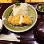 とんかつ処倉敷浜田屋 - ロースカツ定食 小
