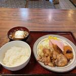 レストラン角家 - 日替わり定食