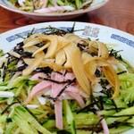 金龍軒 - 料理写真:冷やし中華700円