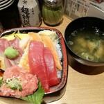 すし 台所家 - 大漁丼(大盛り)