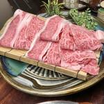 154836410 - 上鹿児島黒牛・野菜の盛り合わせ