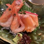 Daininguyoshi - 刺身三種盛り